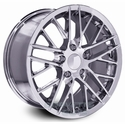 Corvette ZR1 Style Wheel - Chrome (17x8.5 +49mm)