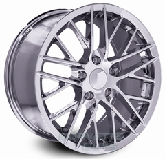 Corvette ZR1 Style Wheel - Chrome (19x12 +59mm)