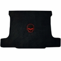 Ebony Corvette Jake Ultimat Cargo Mat - Red / No Script - Coupe : C6,GS,Z06,ZR1