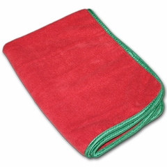 Fluffer Supreme Microfiber Polishing Towel - Red