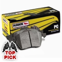 Hawk Ceramic Brake Pads (97-04 C5 & C5 Z06 / 05-13 C6 Front Pair) - Hawk Performance HB 247Z.575