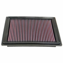 K&N Drop In Replacement Corvette Air Filter (05-07 C6) - K&N Engineering 33-2305