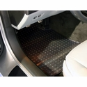 Lloyds Floor Mat Protectors - Clear : 2005-2013 C6,Z06,ZR1,Grand Sport