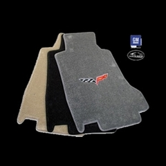 Lloyds Ultimat Floor Mats - C6 Emblem Only - Steel Grey : 2007.5-2013
