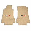 Lloyds Ultimat Floor Mats - Cashmere: 05-07 C6 (Post Style Anchor) - Lloyd Mats 1540003650