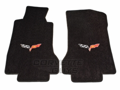 Lloyds Ultimat Floor Mats - Ebony (05-07 C6)