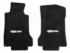 Lloyds Ultimat Floor Mats - Ebony (05-07 C6 Z06)
