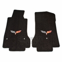 Lloyds Ultimat Floor Mats - Ebony (08-13 C6) - Lloyd Mats 1540203118