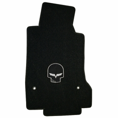 Lloyds Ultimat Floor Mats - Jake Skull / No Script - Yellow or Silver - 2005-2007 (Post Anchor)