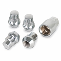 Locks with Key for Chrome Acorn Lug Nuts