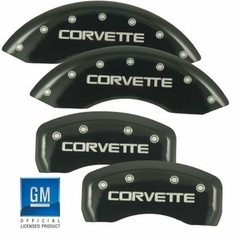 MGP Corvette Caliper Covers (Set of 4) - Black (88-96 C4)