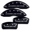 MGP Corvette Caliper Covers (Set of 4) - Black (C5 / C5 Z06)