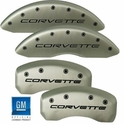 MGP Corvette Caliper Covers (Set of 4) - Satin (88-96 C4)