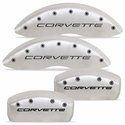 MGP Corvette Caliper Covers (Set of 4) - Satin (C5, C5 Z06)
