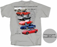 "C1-C6 Corvette Men's ""Nothing But Corvette"" T-Shirt"