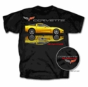 Racing Black Corvette T-Shirt - Men's