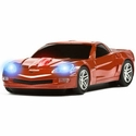 Road Mice Corvette Wireless Computer Mouse (Red) - Four Door Media RM-08CHCZRXA
