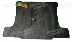 Steel Grey Corvette C6 Ultimat Cargo Mat - Conv.