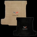 Steel Grey w/ Corvette Script C6 Ultimat Cargo Mat - Convertible