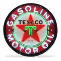 Texaco Motor Oil Neon Sign in a Metal Can : 36in