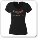 Womens Corvette Shirts