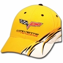Yellow Corvette Racing Cap