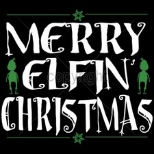 Wholesale T-Shirts Bulk Christmas Funny - 10x9-merry-elfin-christmas