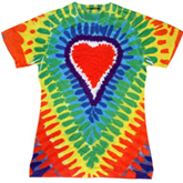 Sublimation Tie Dye T Shirts Ladies Wholesale - 1555-649-S