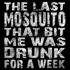 Wholesale T Shirts Custom Printed Suppliers - 16025-12x13-last-mosquito-bit-me-was-drunk-week