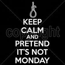 Wholesale Bulk T Shirts Funny Fashion - Wholesale - Funny T Shirts - 16428-8x14-keep-calm-pretend-not-monday