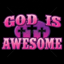 Wholesale T Shirts, Custom T Shirts, Printed - 16582-7x4-god-awesome-neon
