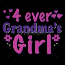 Wholesale T Shirts, Custom T Shirts, Printed - 16584-7x5-4-ever-grandmas-girl-neon