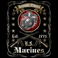 Bulk T Shirts Military Fashion - US Marines Bulk Supplier Military  - 18262D2