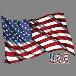 Patriotic American Flag T Shirts Wholesale - 19979HD2