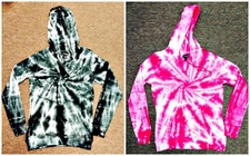 Wholesale Wholesalers Products Clothing -  #241 Womens Knit Tie Dye Hoodie - $12.00 each (24 piece case)
