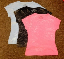 Women's Clothing - #255 Womens Acid Washed T-shirts - $4.00 each(36 pieces).jpg