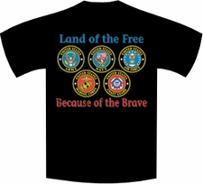 Wholesale Military T-Shirts - 3465_black t