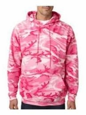 Wholesale Sweatshirts, Pink Camouflage Pullover Hooded - MSC Distributors