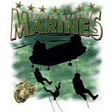 Wholesale T Shirts, Marines T Shirts 9510-A