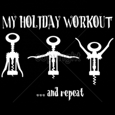 Wholesale T-Shirts Bulk Funny Cool Cheap - 9x7-my-holiday-workout