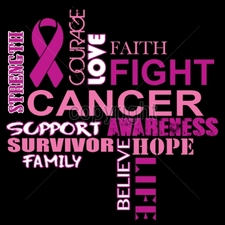 Wholesale T-Shirts Bulk Cancer Cool Cheap T-Shirts - 9x9-fight-cancer
