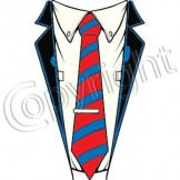 Funny T Shirts - a11465b suit tie