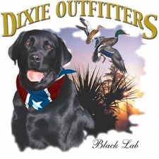 Wholesale Clothing Apparel - Custom Printed Black Lab Dixie Outfitters T Shirts - a12166c
