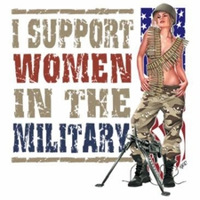 Women in the Military T Shirts Wholesale - a13398b