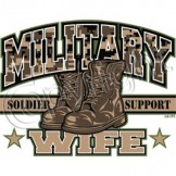 Wholesale Military Wife T Shirts - a6036e