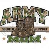 Wholesale Army Mom T Shirts - a6093d