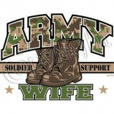 Wholesale Products - Army Wife T Shirts Wholesale - a6102d
