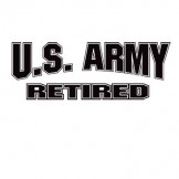 US ARMY RETIRED Wholesale Military T Shirts Custom Printed Cheap Suppliers Bulk - a8110f