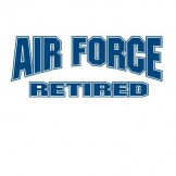 AIR FORCE RETIRED Wholesale Military T Shirts Custom Printed Cheap Suppliers Bulk - a8126e