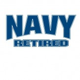 NAVY RETIRED Wholesale Military T Shirts Custom Printed Cheap Suppliers Bulk - a8172j